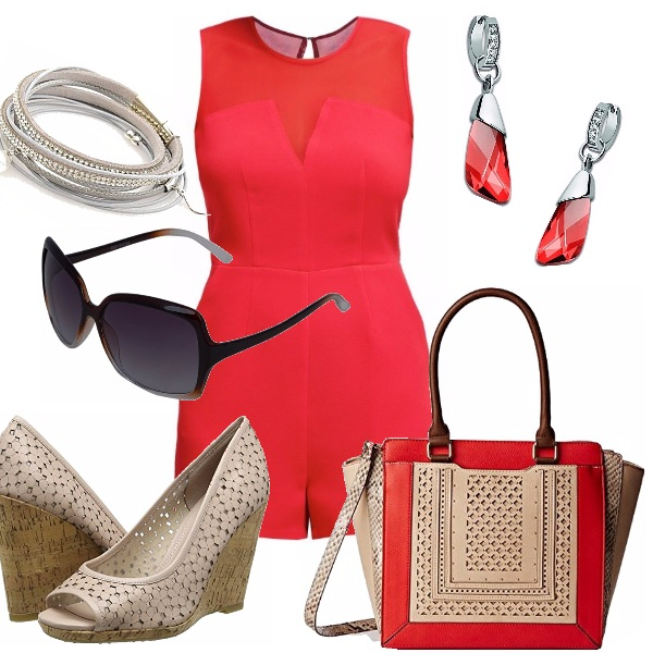 Outfit Strepitoso rosso