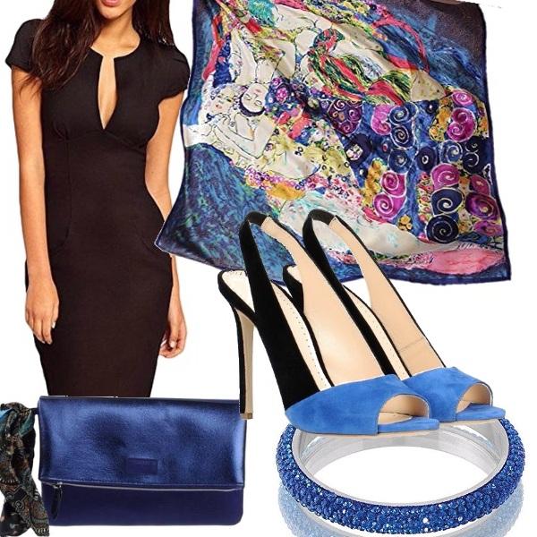 Outfit L'arte nel blu