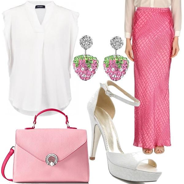 Outfit Panna e fragole