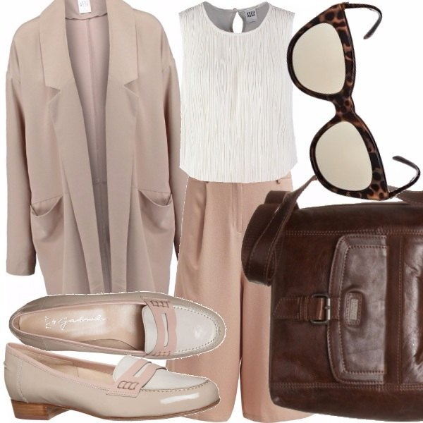 Outfit Rosa carne