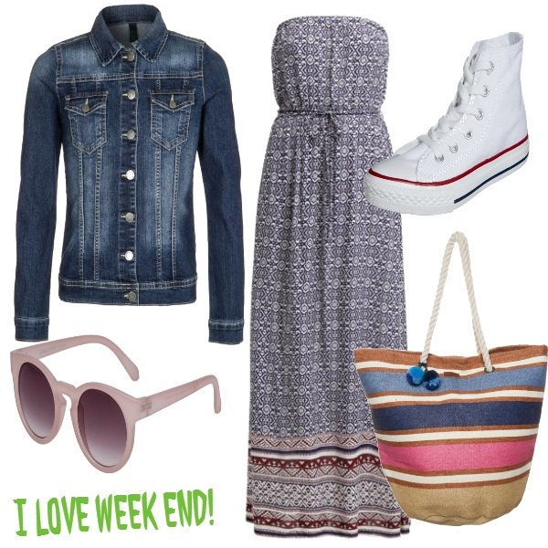 Outfit I love week-end
