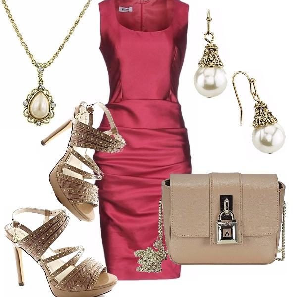 Outfit Rosso per un party