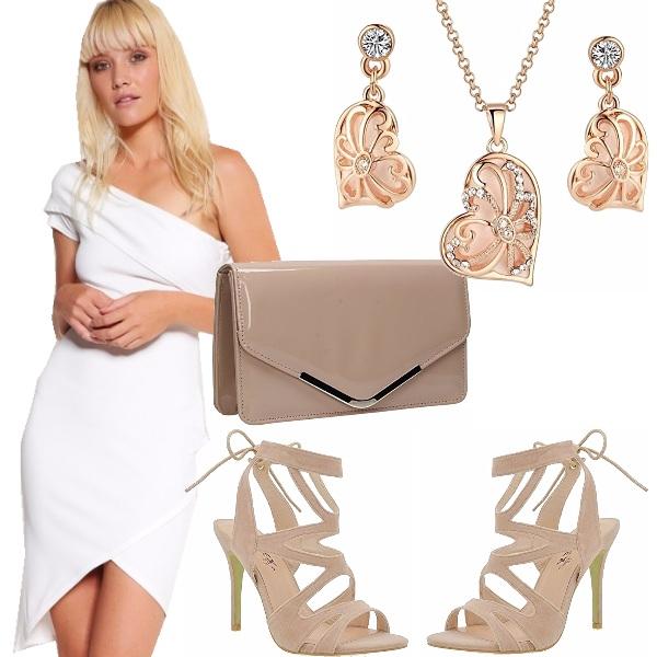 Outfit Monospalla bianco