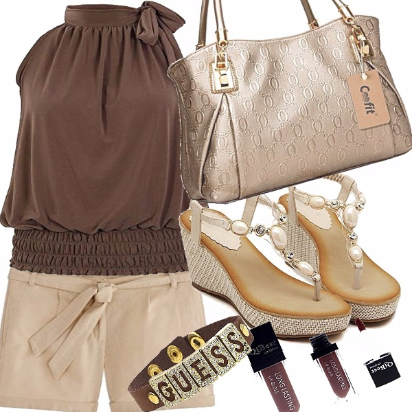 Outfit Brown chic
