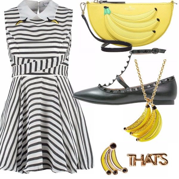 Outfit One banana, two bananas, three bananas