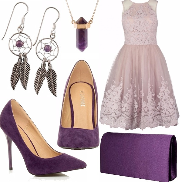 Outfit Purple girl