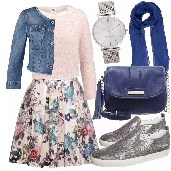 Outfit Bluerose