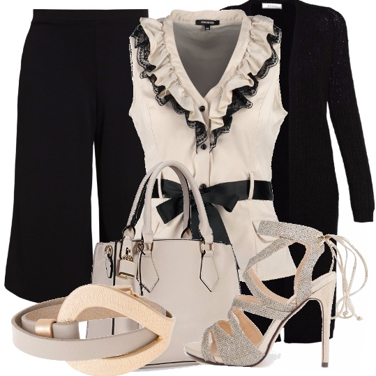 Outfit Gonna-pantalone per l'ufficio