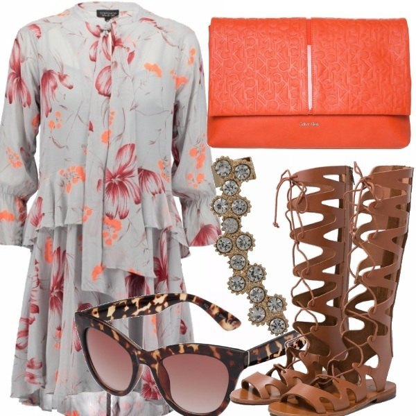 Outfit Gladiator sandals