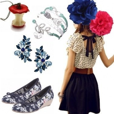 Outfit Biancaneve