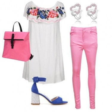 Outfit Il fiore valorizzato