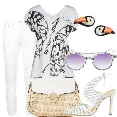 Outfit Non solo bianco