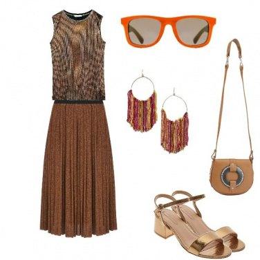 Outfit Gli occhiali arancio