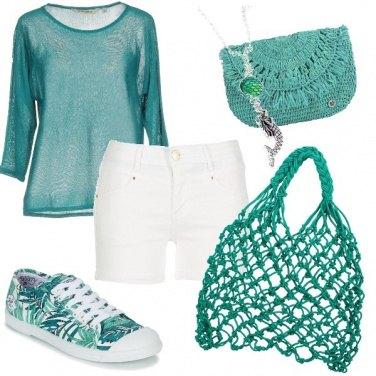 Outfit La borsa di rete