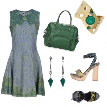 Outfit In love with green