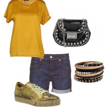 Outfit La scarpa oro