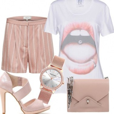 Outfit Trendy in T-shirt