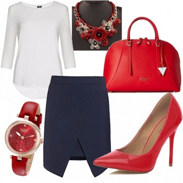Outfit Business red