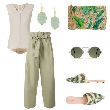 Outfit Olive Green