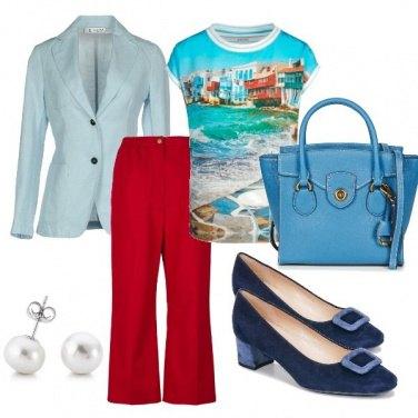 Outfit Il mare in ufficio