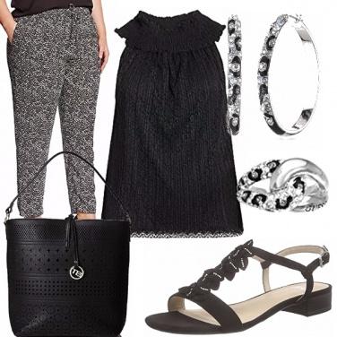 Outfit La moda curvilinea