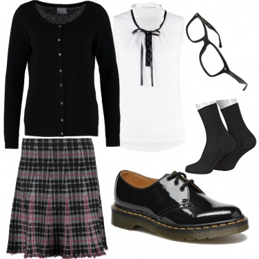 Outfit Preppy style