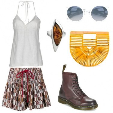 Outfit Dr Martens & top