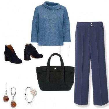Outfit Basic, con qualche dettaglio bon ton