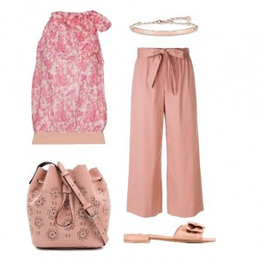Outfit Rosa salmone