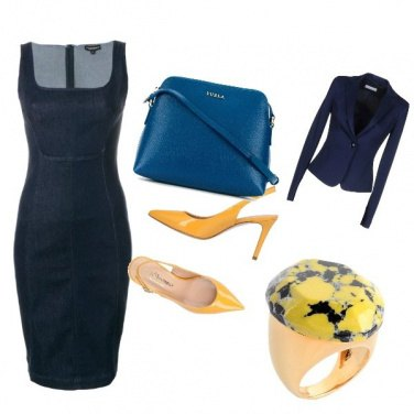 Outfit Blu/yellow