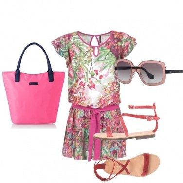 Outfit La jumpsuit colorata