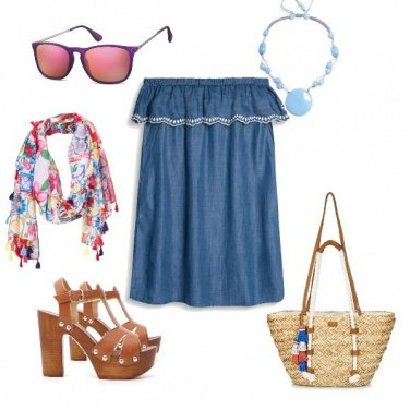 Outfit Abito jeans