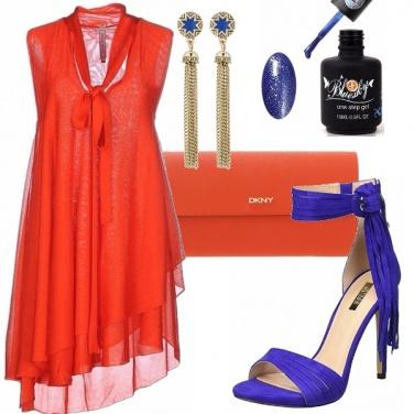 Outfit Serata a tutto colore