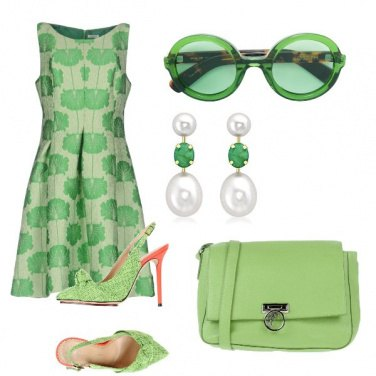 Outfit Verde prato