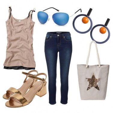Outfit Golden star