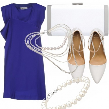 Outfit Blue-white