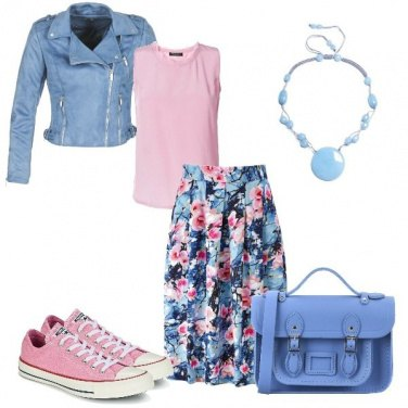 Outfit Chic Rock