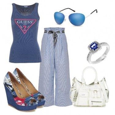 Outfit Le zeppe fantasia