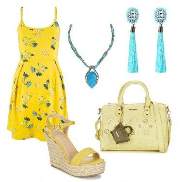 Outfit Il giallo che mi piace