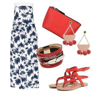 Outfit Dettaglio rosso