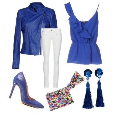Outfit Blue cielo