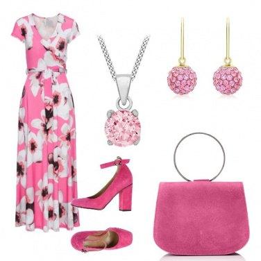 Outfit Lungo e rosa
