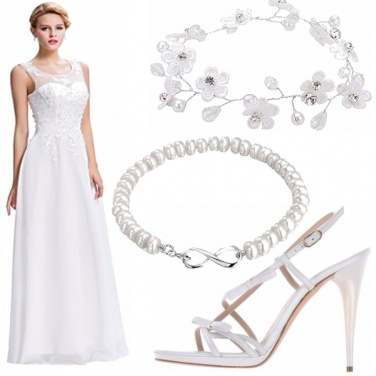 Outfit Sposa low cost