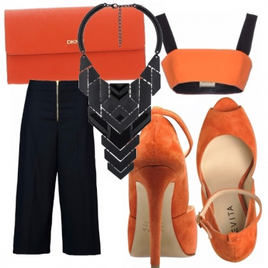 Outfit Love orange