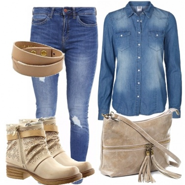 Outfit Casual in denim