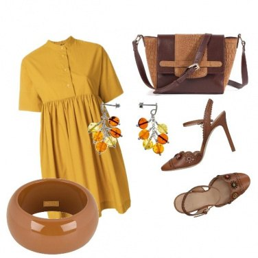 Outfit Yellow&Brown_As