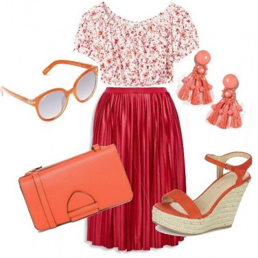Outfit Sorbetto all\'arancia