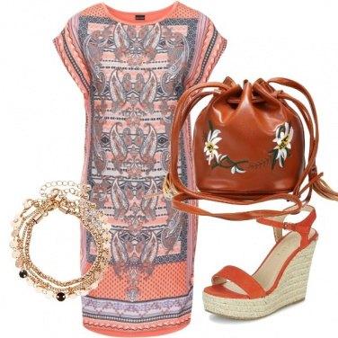 Outfit Borsa a secchiello