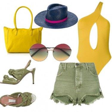 Outfit localino sulla spiaggia