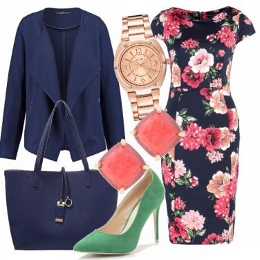 Outfit Tubino fiorito